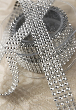 Rhinestone Ribbon .75in wide