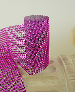 Diamond Wrap Fuchsia 4.25in x 6ft