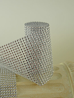 Diamond Wrap Silver 4.25in x 6ft