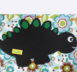 "Dinosaur Chalkboard 24"" x 15"" with chalk"
