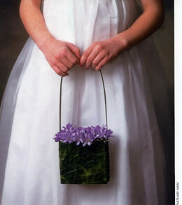 DIY:How To make a Floral Purse from Florist Review's  Wedding 2