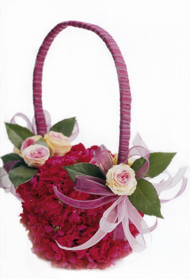 DIY: How to make a  Flower Girl's basket