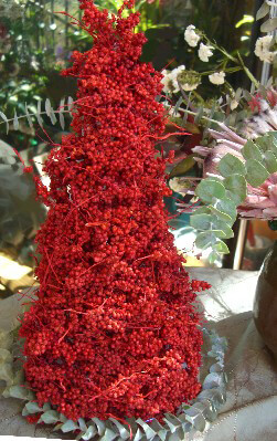 DIY Make a Canella Berry or  Milo Berry Christmas Tree