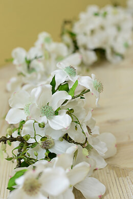 Dogwood Garland 5ft