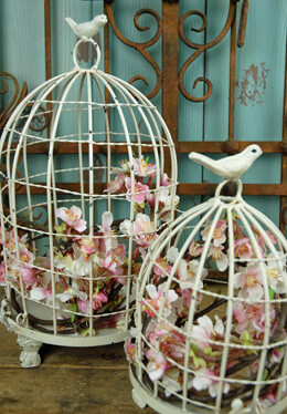 Dome Bird Cages (Set of 2)