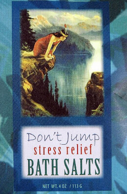 Don't Jump Stress Relief Bluebird Bath Salts