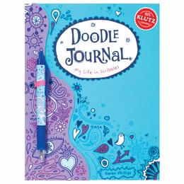 Doodle Journal My Life in Scribbles Klutz