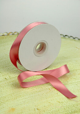 Double Face Satin Ribbon Mauve 5/8in