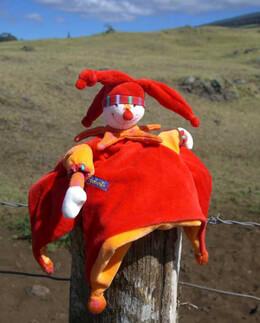Dragobert Capucin Hand Puppet Lovey Moulin Roty