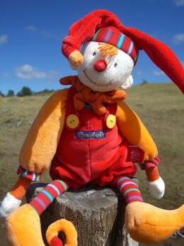 Dragobert Capucin Jester Doll Moulin Roty
