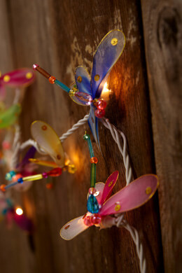 Party String Lights Dragonfly Lights 20CT 10FT