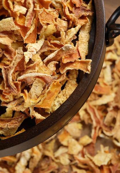 Dried Orange Peels 1lb.