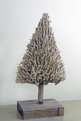 Driftwood Christmas Tree 23in