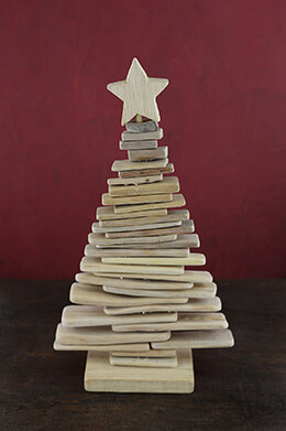 Driftwood Christmas Tree 15.5in