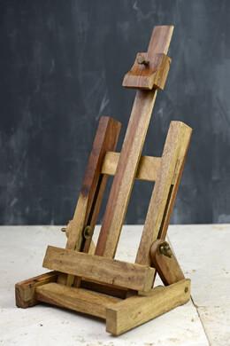 Tabletop Natural Wood Artist Easel 16in