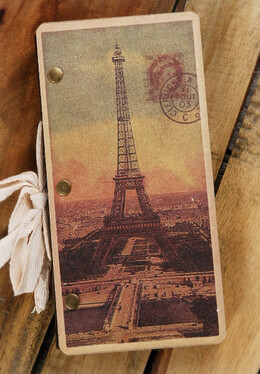 Eiffel Tower Journal 70 pages