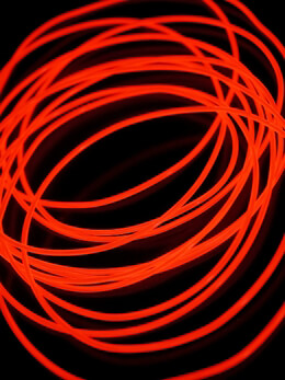 Light El Wire 30ft 2.2mm Red