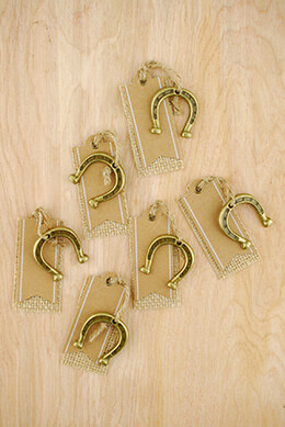 Escort Tag Horseshoes (Set of 6)