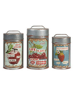 Farm House Tins (Set of 3)