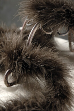 Feather Boas Chocolate Mink Brown Marabou 25 gram