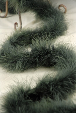Feather Boas Forest Green Heavy Marabou 25 gram