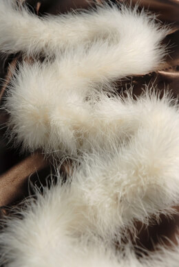 Feather Boas Marabou Cream 25 gram