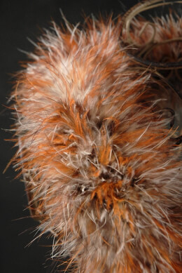 Feather Boas Red Fox Marabou 40 gram