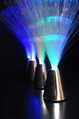 Fiber Optic Centerpieces