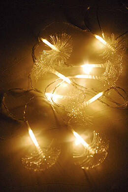 Fiber Optic String Lights 10ct