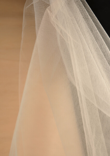 Tulle in Beige 40yds