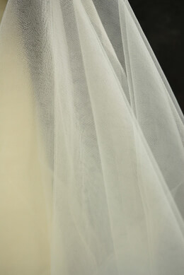 "Fine Ivory Tulle 40yd Bolt | 54"" wide"
