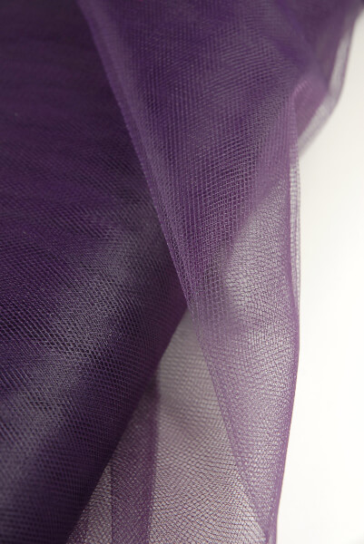 Fine Tulle Purple Plum 54in x 40yds