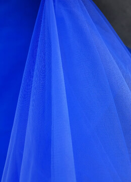 "54"" Royal Blue Fine Tulle Bolt  40 yards"
