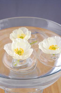 Floating Bubble Bud Vase (set of 3)