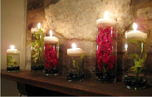 Ivory Floating Candles 2 8 Inch 3 Candles