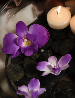Purple Orchids Floating | Pack of 6