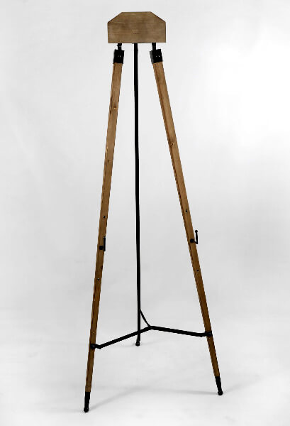Set of Two Wood Floor Standing Easels 63""