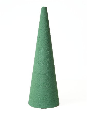 Floral Foam Cone 12 x 4 Artesia Wet Foam Green