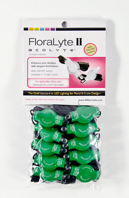 10 Green Floralytes II