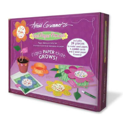 Flower Seed Paper Making Kit Ages 6 & up