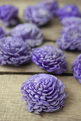 Sola Flowers  Lavender Chorki Flowers (12 flowers)
