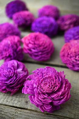 "Sola Flowers 2-2.5"" Lilac Chorki Flowers  (12 flowers)"