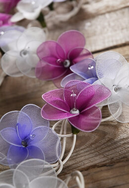 Flower String Lights | Violet