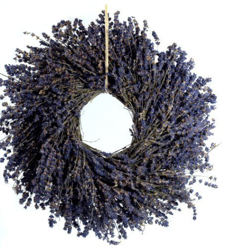 Fragrant Lavender Wreath 16in