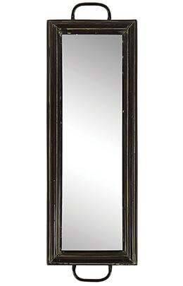 Framed Mirror Centerpiece 19 x 5.4in