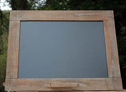 Framed Wooden Blackboard 24