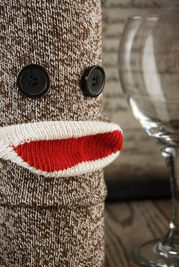 Fred & Friends Wine Monkey Wine Sweater