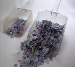 Freeze dried flower petals -Recommended quantities