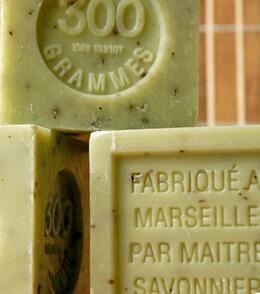 French Soaps Savon de Marseille Crushed Verbena 300 gram