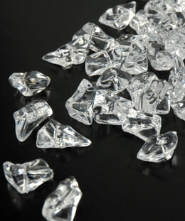 "FX Realistic Clear Large Acrylic Ice Chips (special effects) 1"" ice chips"